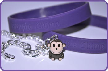 Purple Chimp Charm Prizes